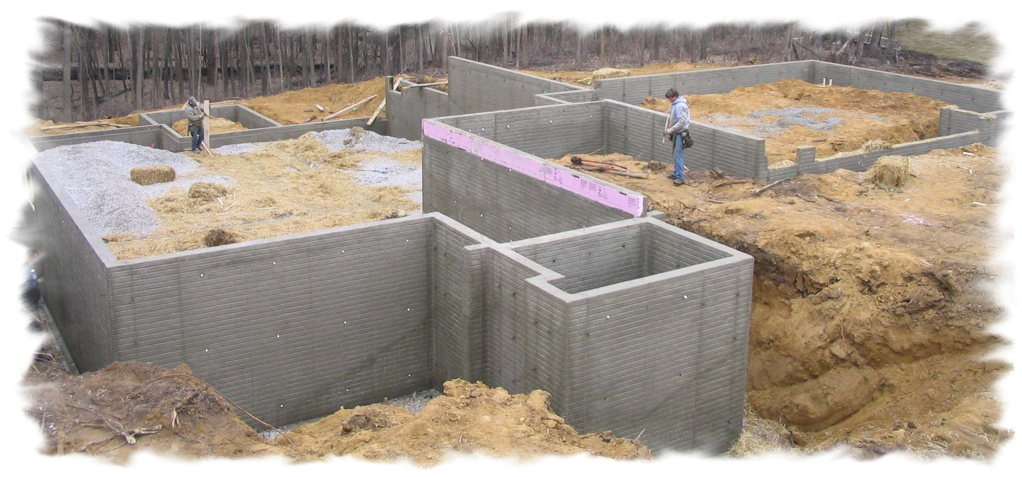 January 2011 for Basement foundations construction